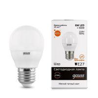 Лампа светодиодная Gauss LD53216 6W E27 2700K