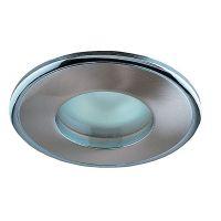 Светильник встраиваемый Novotech Aqua 369302 NT09 289 никель/хром IP65 GX5.3 50W 12V
