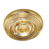 Светильник встраиваемый Novotech Aqua 369814 NT12 287 золото IP65 GX5.3 50W 12V