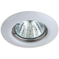 Светильник точечный Эра St3 WH штампованный Mr16 12В 50Вт белый