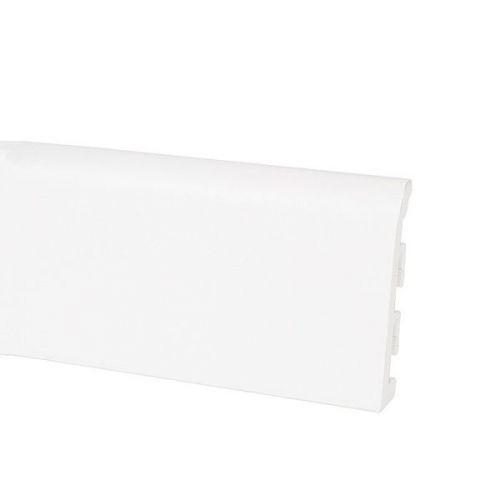 Плинтус ПВХ Korner Idea 120 белый 2500х120х10 мм