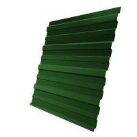 Профнастил С10 Grand Line Optima Satin 0,5 мм RAL 6002 лиственно-зеленый