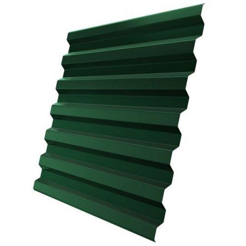Профнастил С21 Grand Line Optima Pe 0,7 мм RAL 6005 зеленый мох