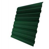 Профнастил С10 Grand Line Pe 0,5 мм RAL 6005 зеленый мох