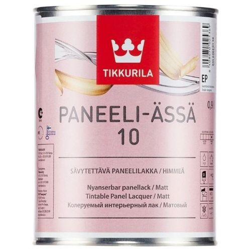 Лак Tikkurila Paneeli Assa 10 матовый 9 л