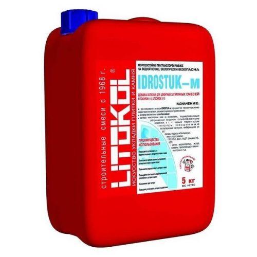 Добавка латексная для затирок Litokol Idrostuk-м 5 кг