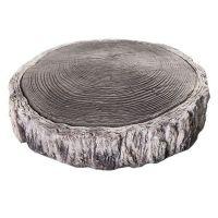 Плитка тротуарная из искусственного камня KR Professional Пеньки 72610 серая