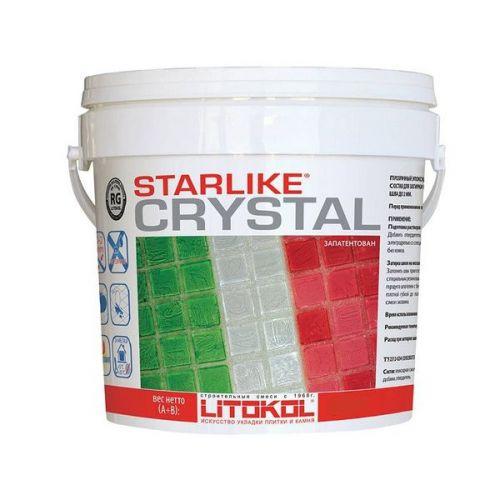 Затирка эпоксидная для швов Litokol Litochrom Starlike C.350 Crystal 2,5 кг
