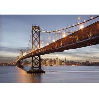 Фотообои бумажные Komar Bay Bridge 8-733 3,68х2,54 м