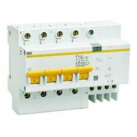 Автоматический выключатель дифференциального тока IEK АД14 4Р 40А 300мА