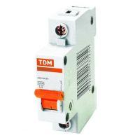 Автоматический выключатель TDM ВА47-63 SQ0218-0003 С 1P 16 A