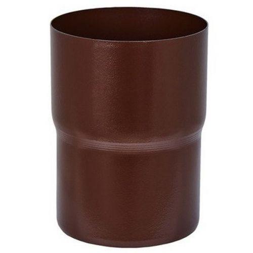 Соединитель трубы Aquasystem D125/90 мм RAL 8017 коричневый