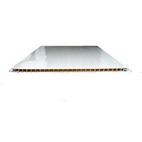 Стеновая панель ПВХ СВ-Пласт глянцевая белая 2700х375 мм