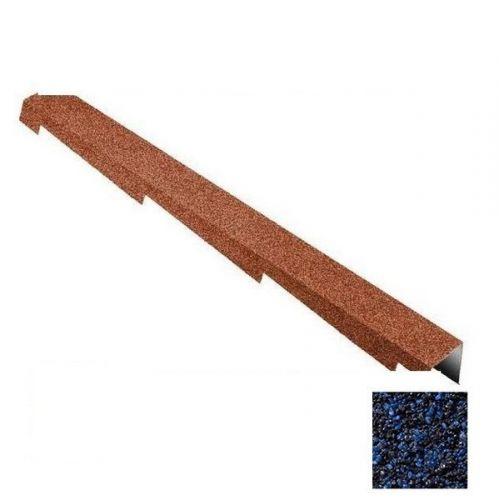 Планка торцевая Metrotile темно-синяя правая