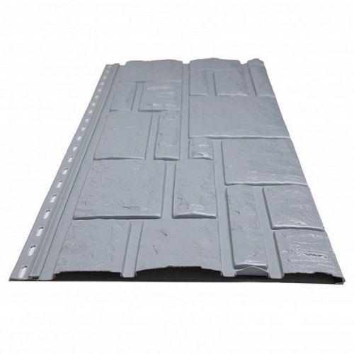 Панель фасадная Доломит Rockvin серо-голубая 3000х260 мм