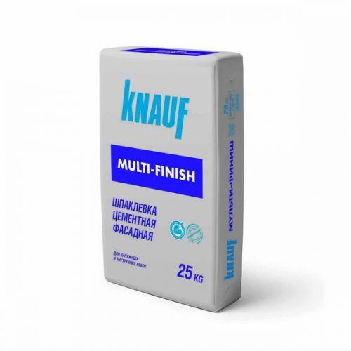 Шпатлевка цементная Кнауф Мульти-финиш фасадная 25 кг