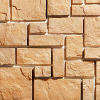 Искусственный камень KR Professional Средневековая стена 03380 бежевый