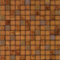 Мозаика из стекла, мрамора и агломерата Natural Inka BDA-2319