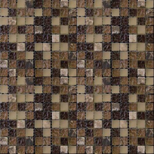 Мозаика из стекла и мрамора Natural Pastel PST-014