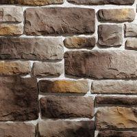 Искусственный камень KR Professional Грубый скол 04010 серый