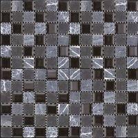 Мозаика из стекла и мрамора Natural Madras MSD-411