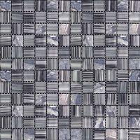 Мозаика из стекла и мрамора Natural Madras MSD-426