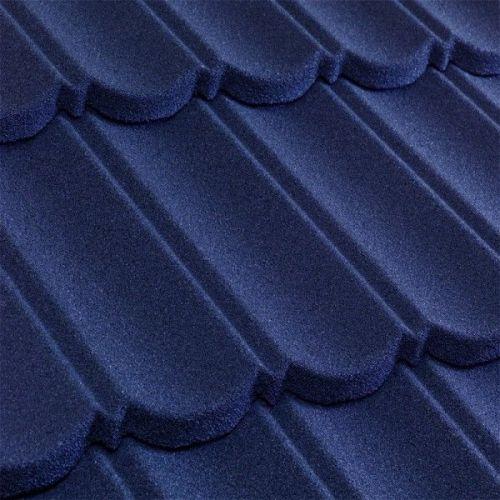 Черепица композитная Metrotile Metrobond темно-синяя
