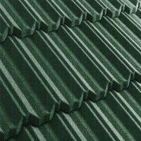 Черепица композитная Metrotile Metroclassic зеленая