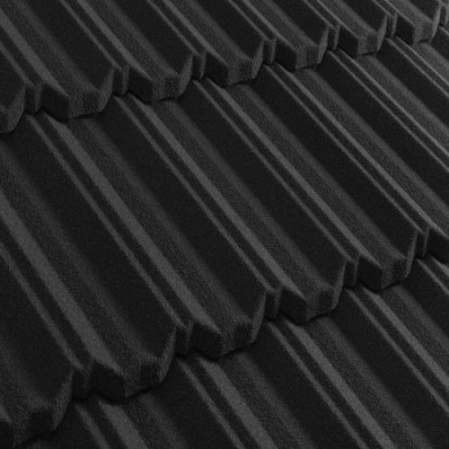 Черепица композитная Metrotile Metroclassic черная