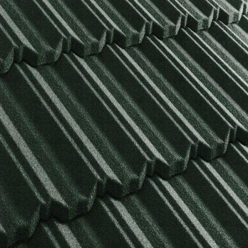 Черепица композитная Metrotile Metroclassic темно-зеленая