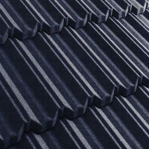 Черепица композитная Metrotile Metroclassic темно-синяя