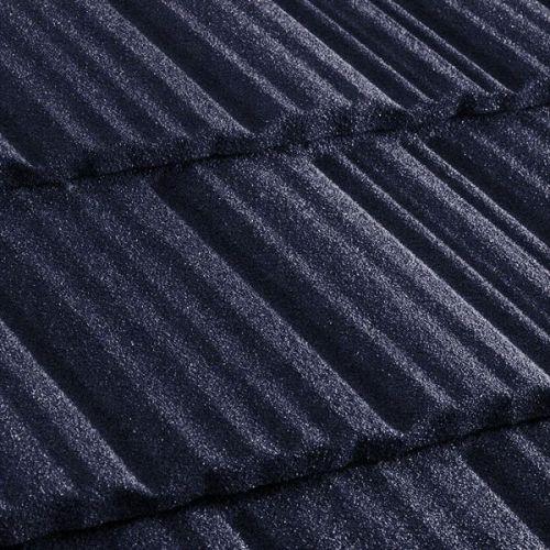 Черепица композитная Metrotile Metroshake II темно-синяя