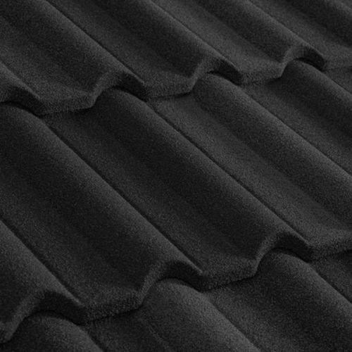 Черепица композитная Metrotile Gallo черная