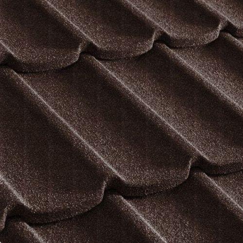 Черепица композитная Metrotile Mistral коричневая