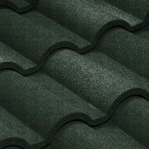Черепица композитная Metrotile Romana темно-зеленая