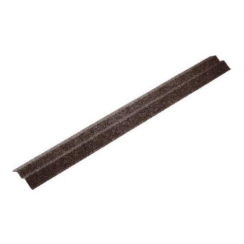 Планка карнизная Metrotile коричневая