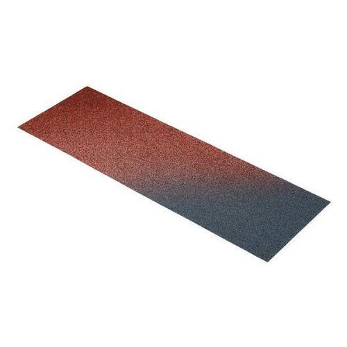 Плоский лист Metrotile красно-черный