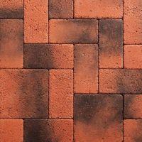 Искусственный камень KR Professional Южный форт 14090 красно-серый