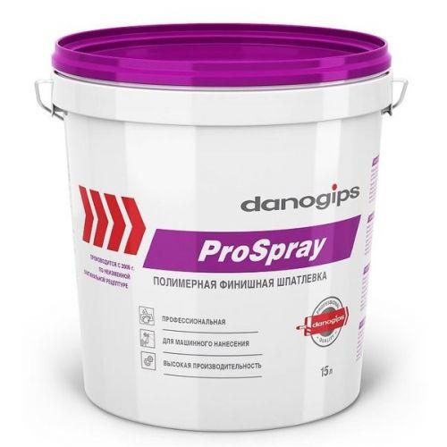 Шпатлевка финишная Danogips Sheetrock ProSpray 15 л