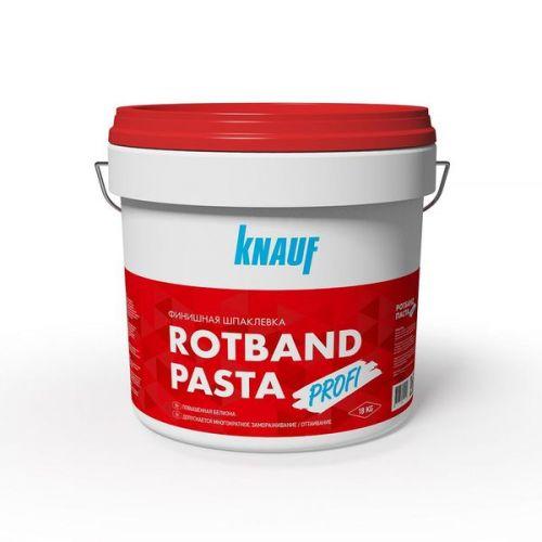 Шпатлевка финишная на виниловой основе Кнауф Ротбанд Паста Профи 18 кг