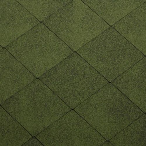 Черепица гибкая Katepal Foxy зеленая