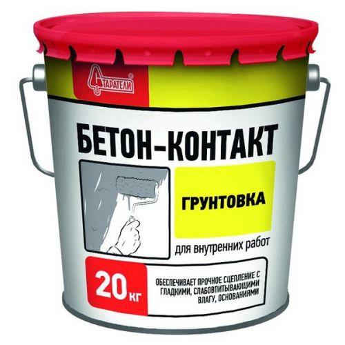 Грунтовка Старатели Бетон-контакт 20 кг