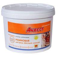 Краска резиновая Аквест-25 База С для крыш и фасадов 1,2 кг