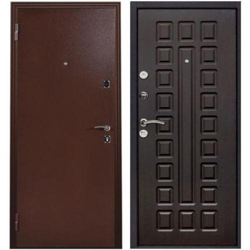 Дверь входная металлическая Меги 131 правая 970x2050 мм снаружи металл внутри МДФ 0486 венге