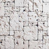 Искусственный камень KR Professional Доминикана 42020 белый