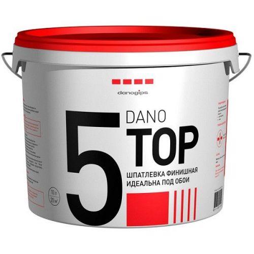 Шпатлевка финишная полимерная Danogips Dano Top 510 л