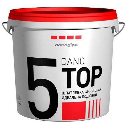 Шпатлевка финишная полимерная Danogips Dano Top 5 3,5 л