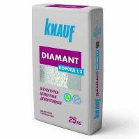 Штукатурка цементная декоративная Knauf Диамант Короед 1,5 мм белая 25 кг