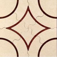 Плита из мрамора для пола Skalini Alcamo ACM-1/4