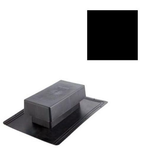 Вентиль кровельный Aquasystem черный